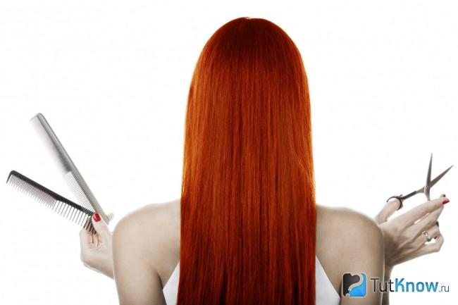 Окрашивание волос луковой шелухой