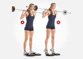 как похудеть икрам упражнения