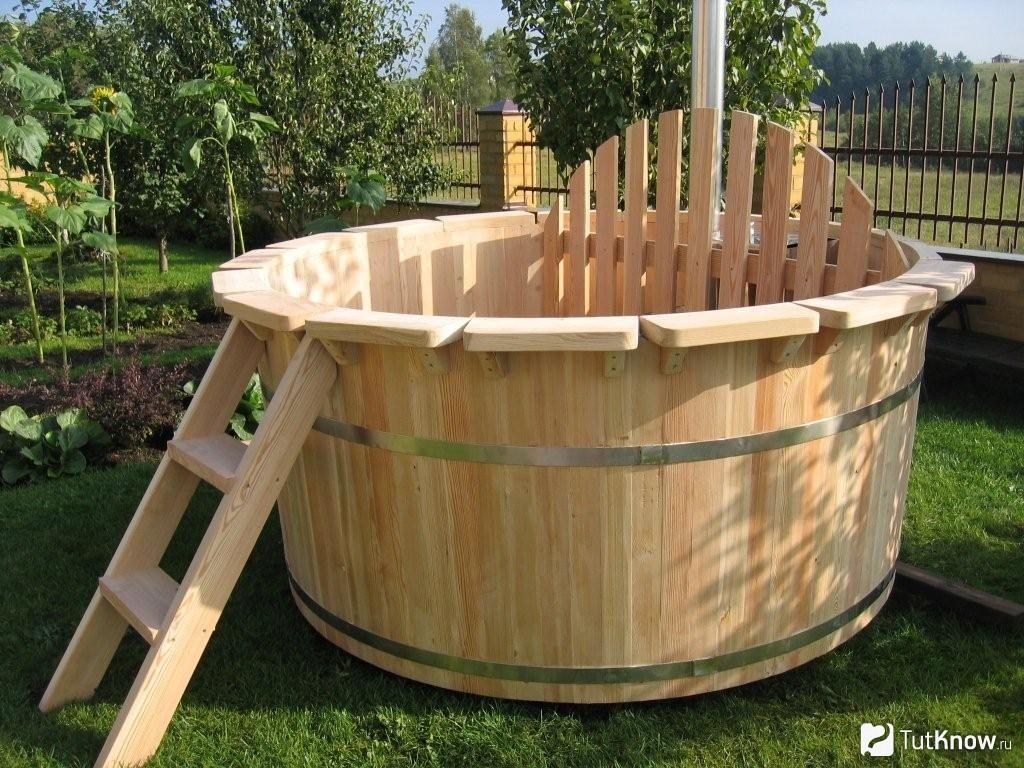 Как сделать бочку для купания из дерева своими руками