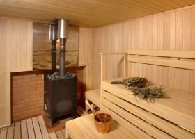Дымоход для бани схема установки