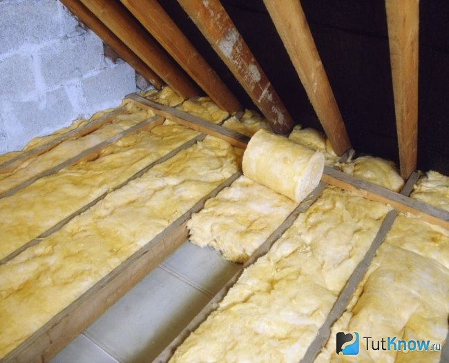 В пароизоляция доме утеплить как потолок