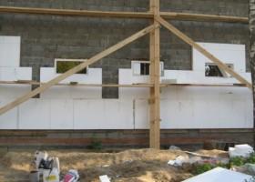 Баня из керамзитобетонных блоков утепление стен
