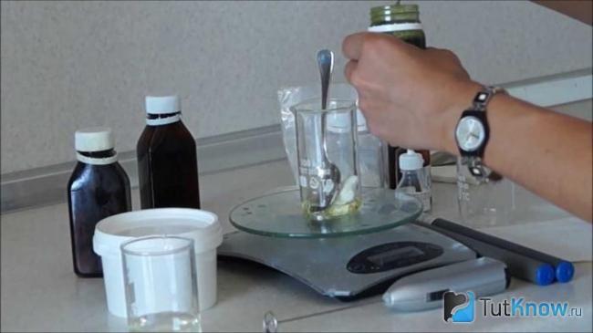Рецептура крема