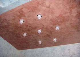Декоративный потолок своими руками