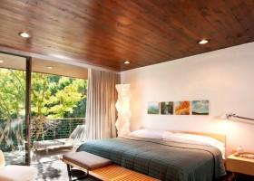 Деревянные панели на потолок