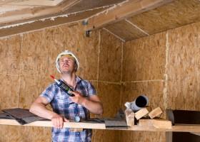 Потолок из фанеры чем отделать