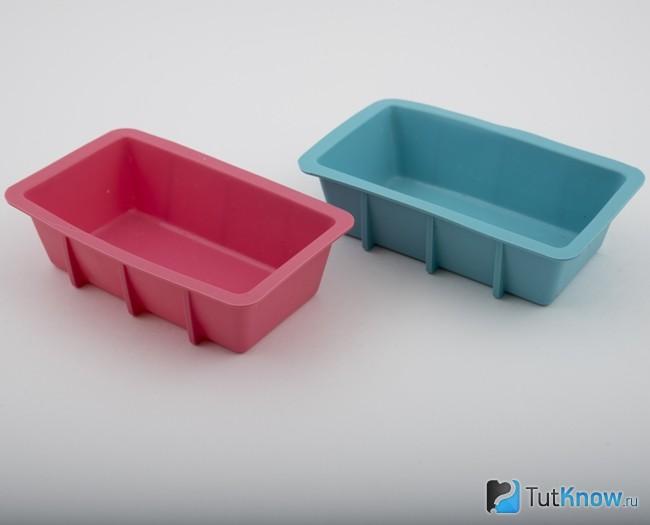 Формочки из пластика