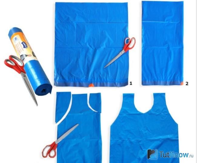 Одежда из пакетов для мальчиков своими руками