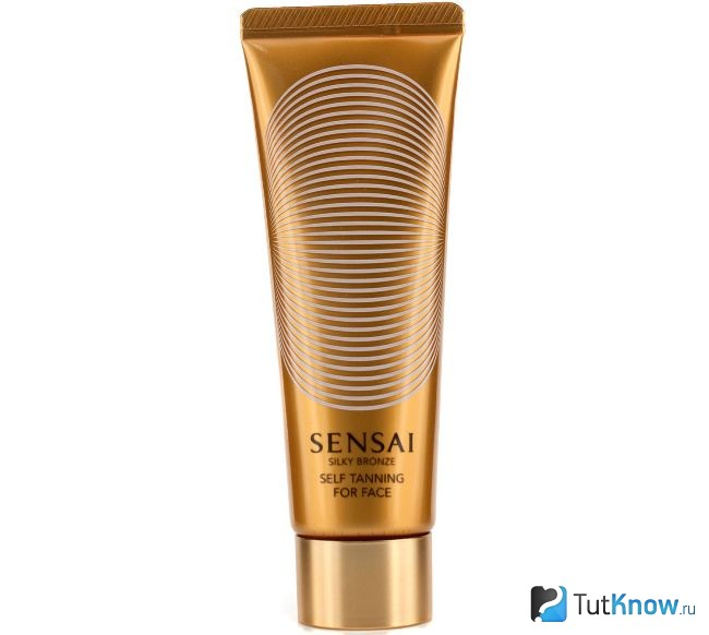 Автозагар-гель Silky Bronze Self Tanning от Sensai