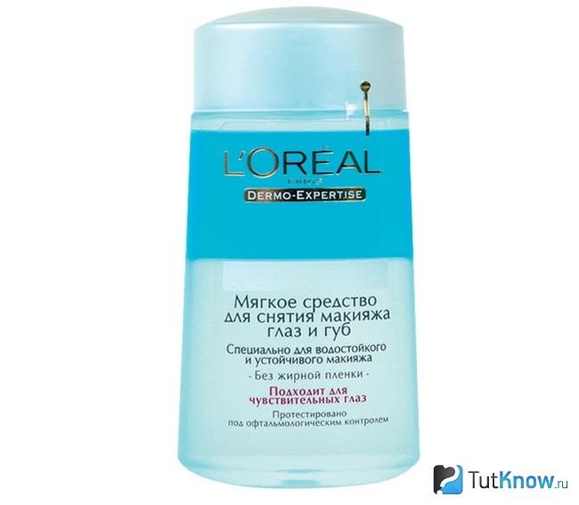 Жидкость для снятия макияжа Loreal
