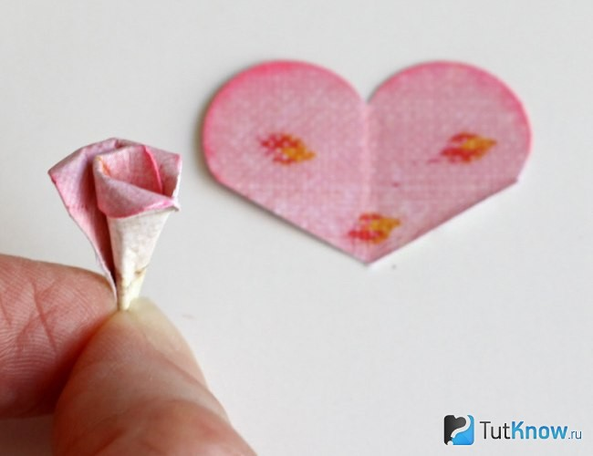 Делаем сердцевину цветка