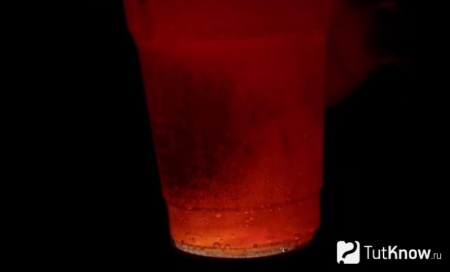 Кипение лавы в стакане