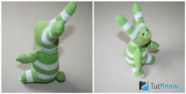 Игрушка из носков своими руками