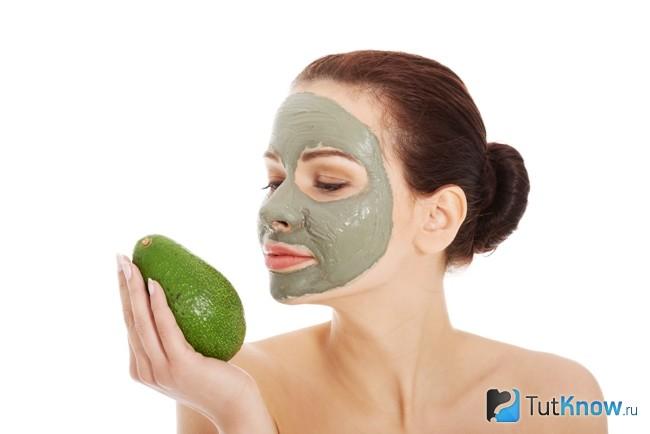 Маска для омоложения с авокадо