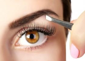 Как корректировать брови нитью