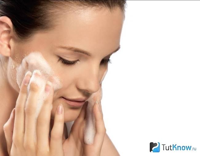 Пилинг кожи лица кальция хлоридом