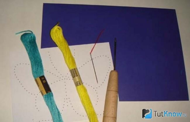 Материалы для изготовления бабочки