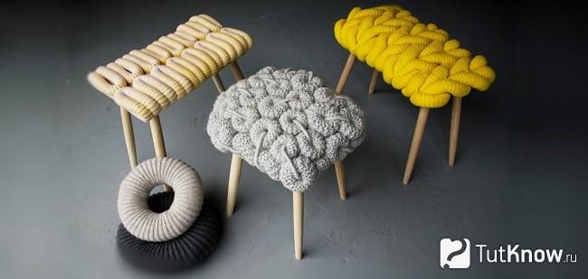 Мебель из резинок