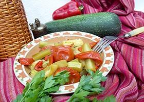 рецепты из кабачков и баклажанов запеченных в духовке