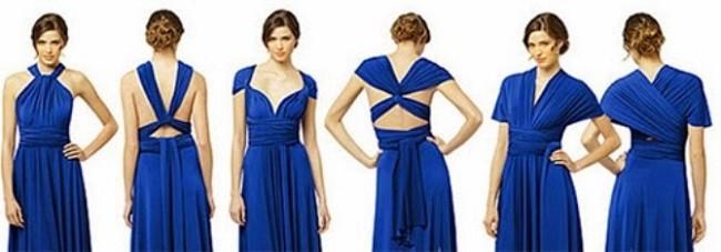 Разновидности оформления платьев