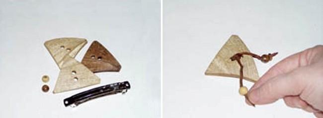 Изготовление крепления для пуговицы