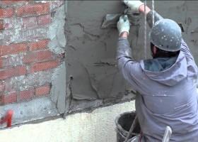 Штукатурка кирпичной стены своими руками