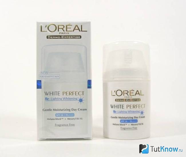 Крем White Perfect Re-Lighting Whitening от L'Oreal