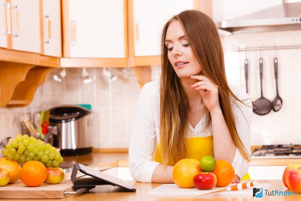 меню дробного питания для похудения на месяц