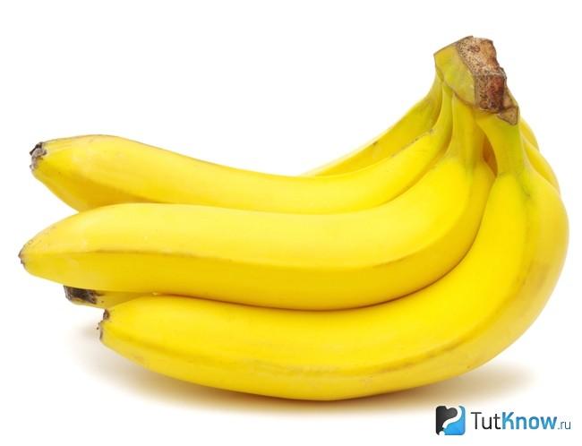 Бананы для маски с семенами льна