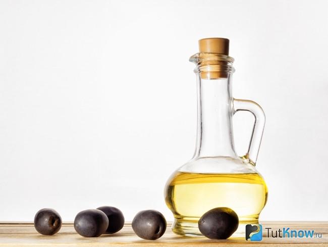 Оливковое масло для маски с семенем льна