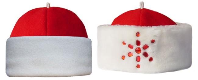Ещё одна вариация шапки Деда Мороза