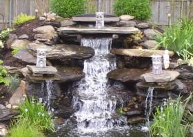 Водопад для дома