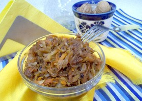 Салат с красной капустой рецепт фото рецепт