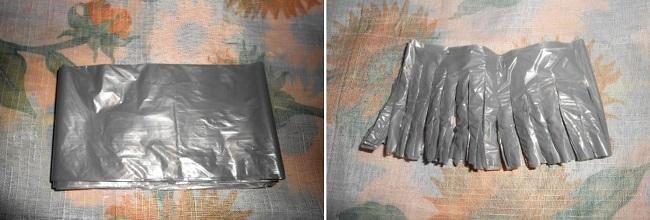 Заготовки из пакетов
