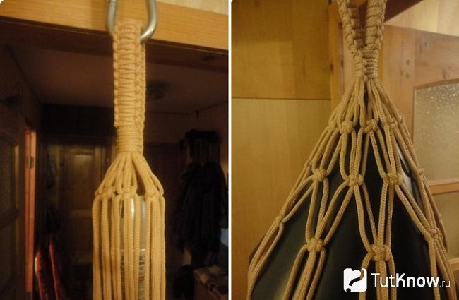Пошаговое плетение колокольчика для кресла