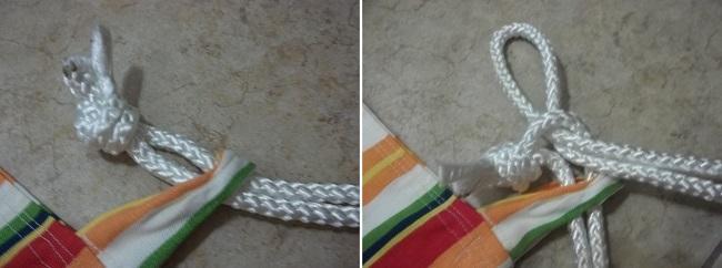 Фиксация верёвок