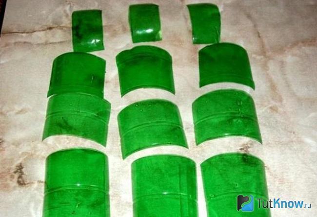Заготовки из пластиковой бутылки