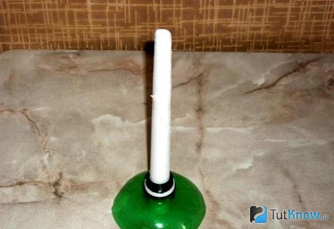 Основа для ёлки из пластиковой бутылки