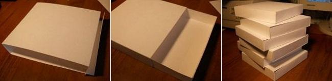 Заготовки ящиков из картона