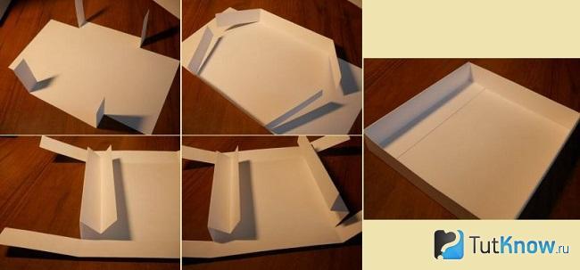 Создание картонного ящика