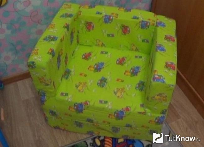Готовый бескаркасный мини-диванчик