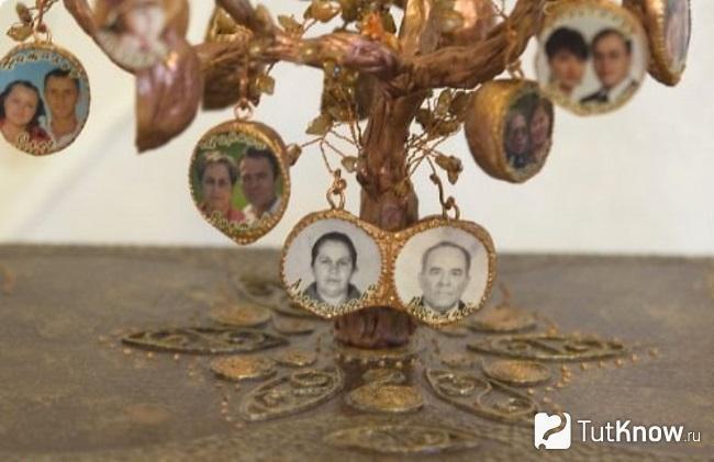 Древо семьи своими руками подручными средствами с фото 9