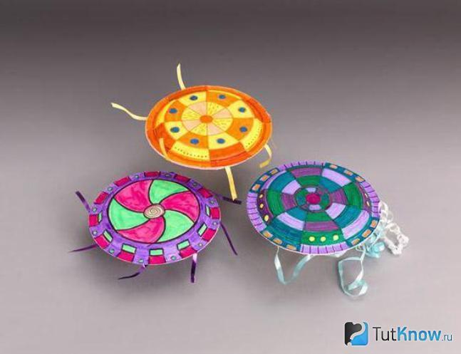 Миниатюрные летающие тарелки