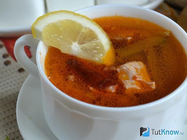 Пошаговый рецепт классической рыбной солянки