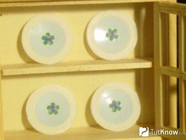Дизайн игрушечной посуды из пластика
