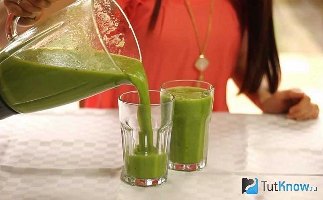 Зеленый коктейль Дюкана в аптеке