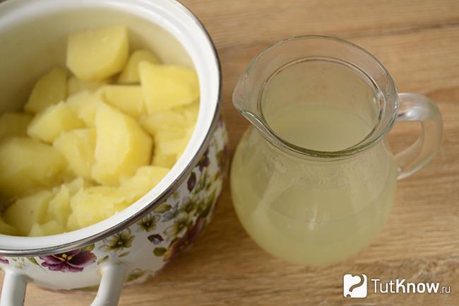Как сделать пюре из картошки с маслом 770