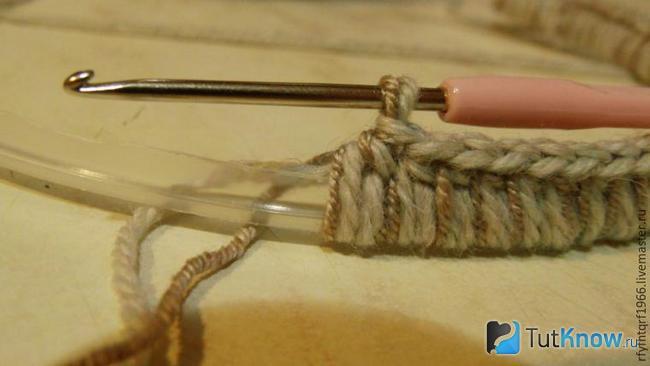 Обматывание ручки нитью