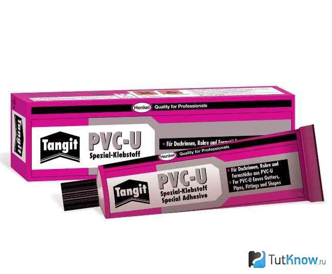 Клей Tangit для монтажа пластиковых труб