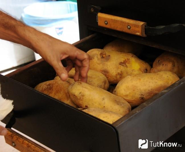 Приготовление запеченного картофеля по-турецки